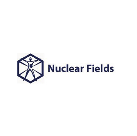 Nuclear Fields logo Dark
