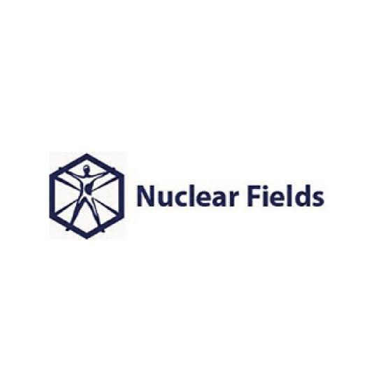 Nuclear Fields logo Dark