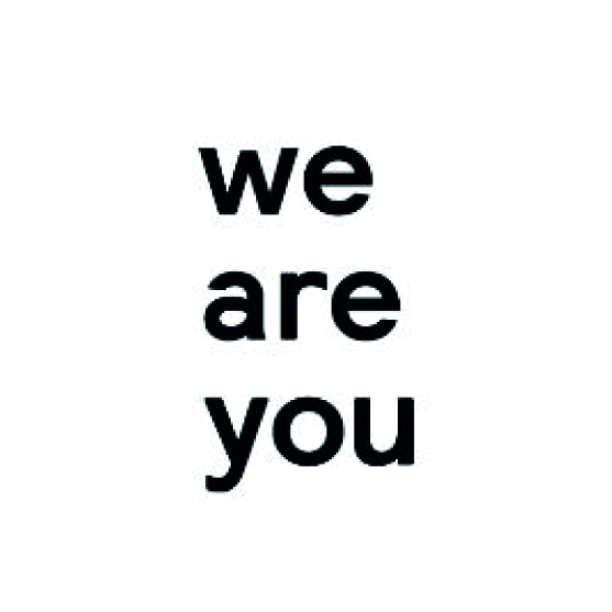 We Are You logo Dark